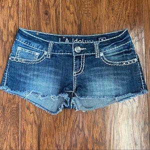 L.A. Idol Jean Shorts